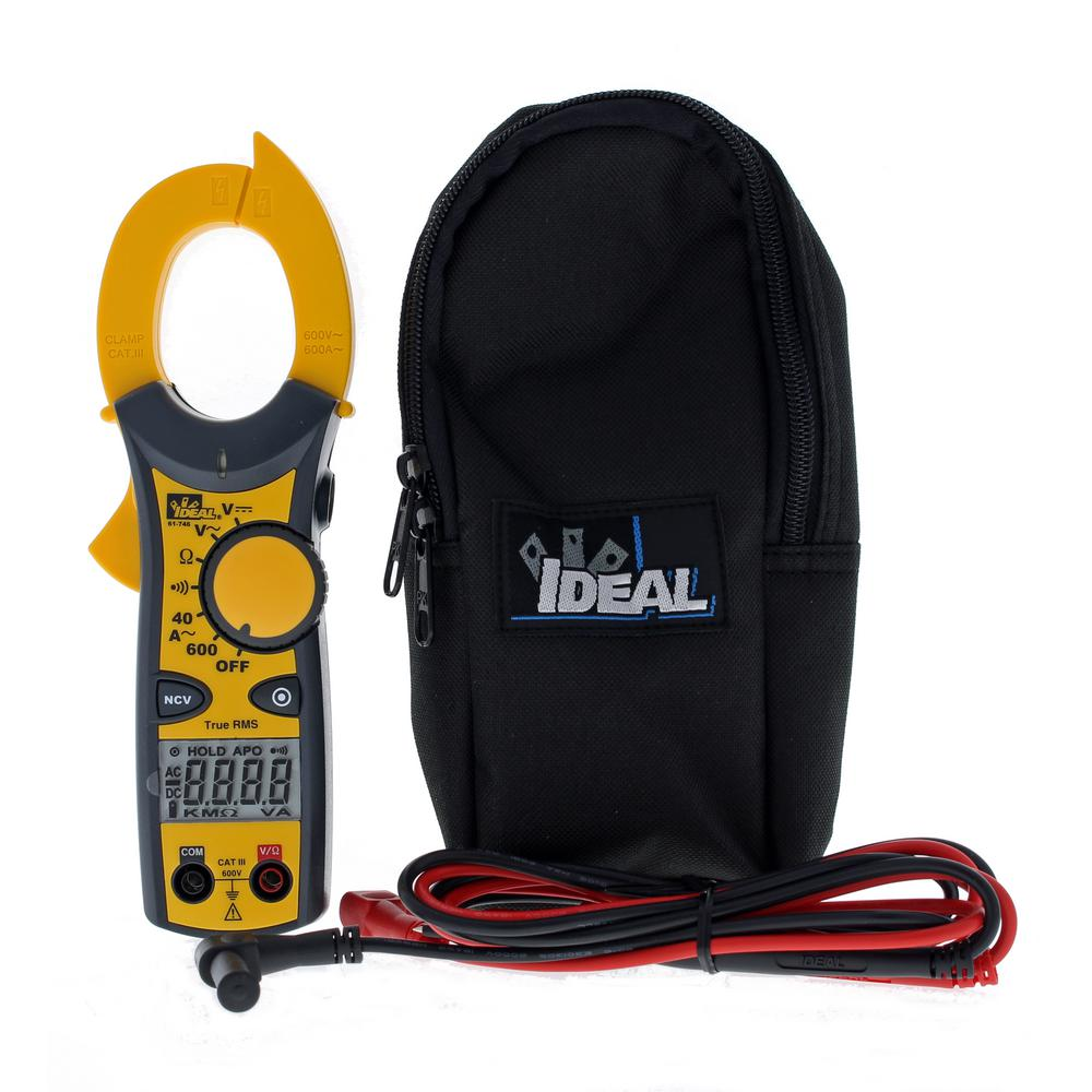 Clamp Meter 600 Amp AC with NCV and TRMS