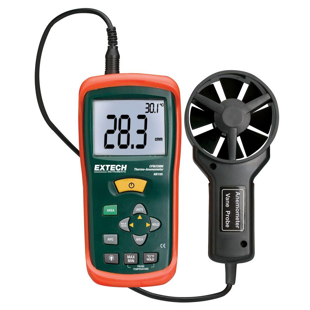 CFM/CMM Thermo-Anemometer